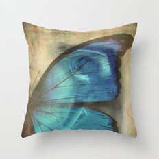 Lady Butterfly  Throw Pillow