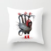 Old Beast Remake Throw Pillow