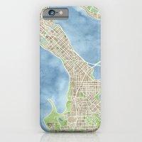 City Map Madison Wiscons… iPhone 6 Slim Case