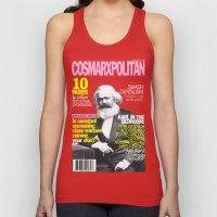 COSMARXPOLITAN, Issue 1 Unisex Tank Top