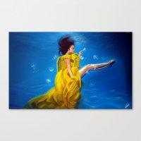 Lemonade Dreams Canvas Print