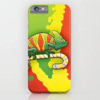 Christmas Chameleon iPhone 6 Slim Case
