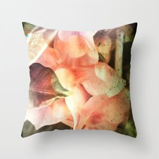Playing with beauty Throw Pillow