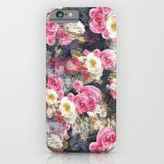Blurry Floral iPhone 6 Slim Case