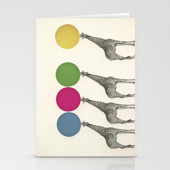 Balancing Act Stationery Card