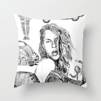 Fashion)  Throw Pillow