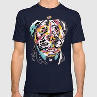 Ai Chan Mens Fitted Tee Navy SMALL