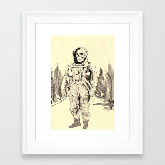 Space Kook Framed Art Print