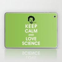 Keep Calm and Love Science Laptop & iPad Skin