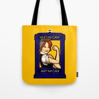 Amy Can! Tote Bag