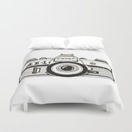 Duvet Cover - Camera - Marissa Yunque