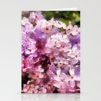 lilac season is my favorite  Stationery Cards