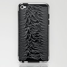 Unknown Radio Waves - Unknown Pleasures iPhone & iPod Skin