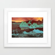Greetings from a Strange Land Framed Art Print