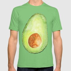 Avocado Mens Fitted Tee Grass SMALL