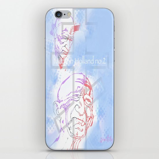 Made in Holland no. 2 iPhone & iPod Skin