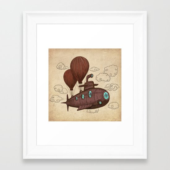 The Fantastic Voyage Framed Art Print