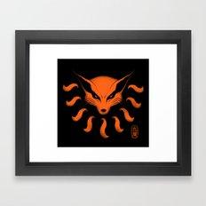 9 Tailed Beast Framed Art Print