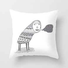 (A Wuggie) Throw Pillow