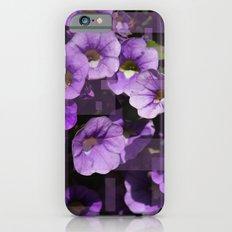 Purple Flower Kaleidoscope iPhone 6 Slim Case
