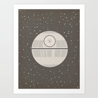 Death Star DS-1 Orbital … Art Print