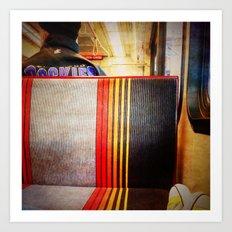 the light rail. Art Print