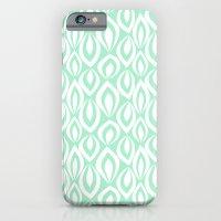 Leafyrific-Fresh Mint iPhone 6 Slim Case