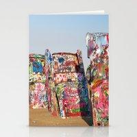 Amarillo Cadillac Ranch … Stationery Cards