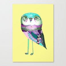 Owl Print Canvas Print