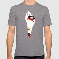 Red Line Mens Fitted Tee Tri-Grey SMALL