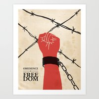 OBEDIENCE Is FREEDOM - T… Art Print