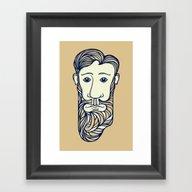 Why The Long Face Framed Art Print