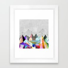Colorflash 3 Framed Art Print
