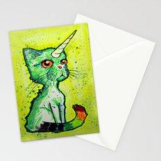 Unicorn Cat Stationery Cards