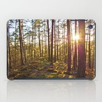 Evening In The Forest iPad Case