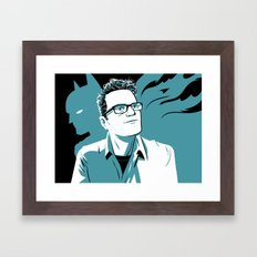 Something After Framed Art Print