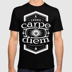 Carpe Diem SMALL Black Mens Fitted Tee