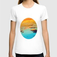 Swim Womens Fitted Tee White SMALL