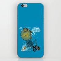 pufferfish baloon iPhone & iPod Skin