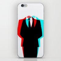 Anonymous.1 iPhone & iPod Skin