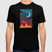 Giza Mens Fitted Tee Black SMALL