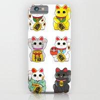 Lucky Cat / Maneki Neko iPhone 6 Slim Case