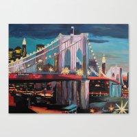 New York City - Manhatta… Canvas Print