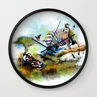 Smash your pattern! Wall Clock