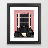 16 Candles Framed Art Print