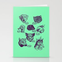 Pet Sounds Stationery Cards