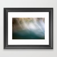Flow VII Framed Art Print