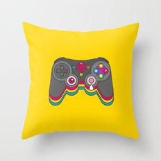 Negative Influences Throw Pillow