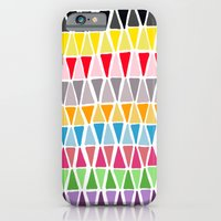 triangle pattern iPhone 6 Slim Case