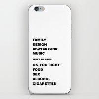 Ok You Right iPhone & iPod Skin